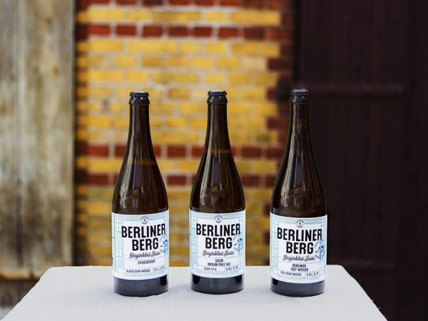 Berliner Berg:  when craftbeers hits gastronomy
